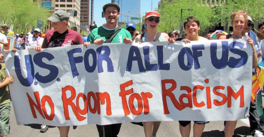 Action of the day: get involved with Showing Up for Racial Justice