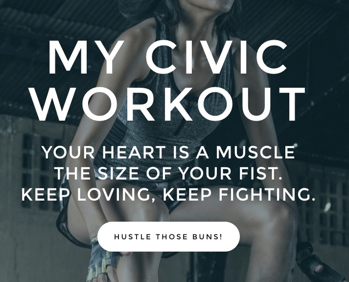 Action of the day: take easy steps towards activism with My CivicWorkout