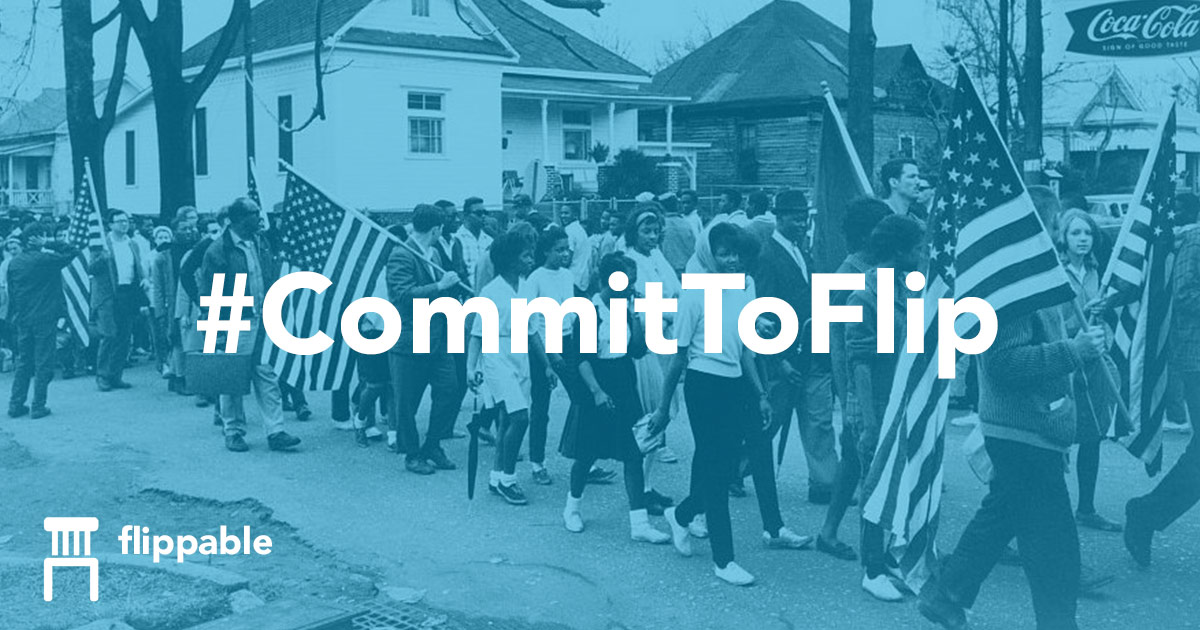 Action of the day: get involved with state-level races throughFlippable
